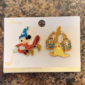 Disney Fantasia Sorcerer Enamel Pin Set